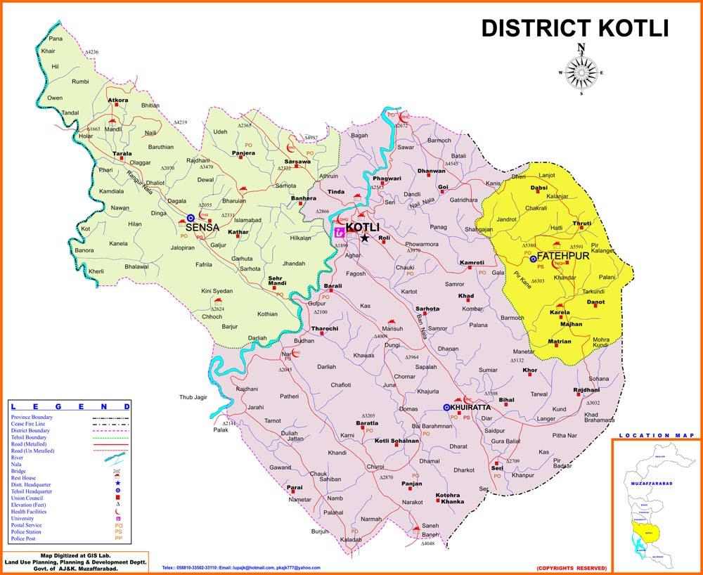 Map-of-District-Kotli-Azad-Kashmir