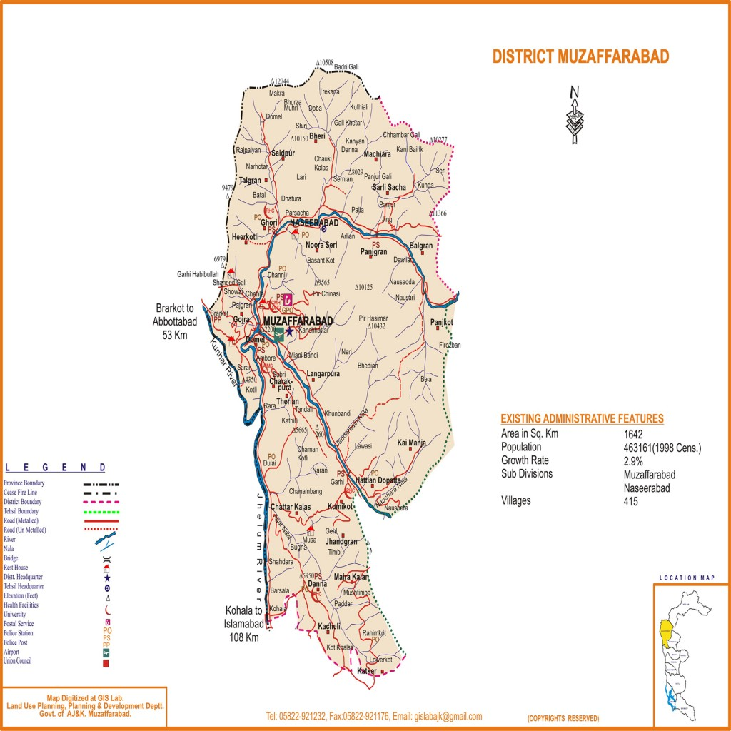 Map-of-District-Muzaffarabad-Azad-Kashmir