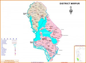 Map-of-District-Mirpur-Azad-Kashmir