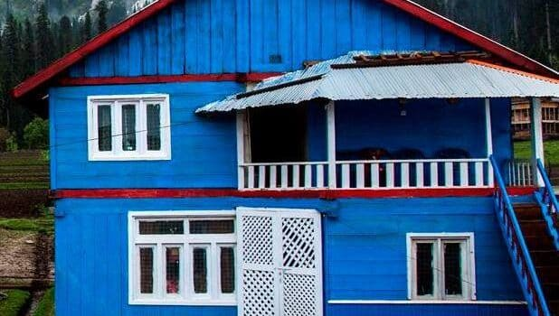 Musk-Deer-Resort-Arrang-Kel-Neelum-Valley-Azad-kashmir-exterior-view