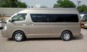 Rent a Hiace in Lahore
