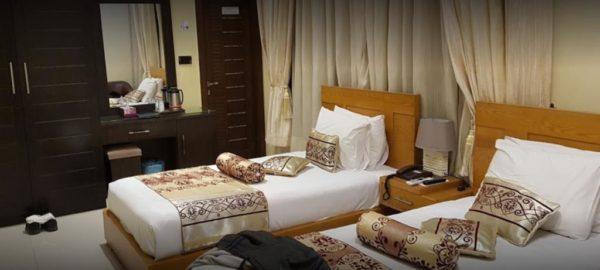 Burj Al Swat Twin bed