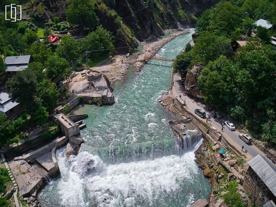 Kutton Waterfall, Jagran, Azad Kashmir. (Photo by Ameer Hamza)