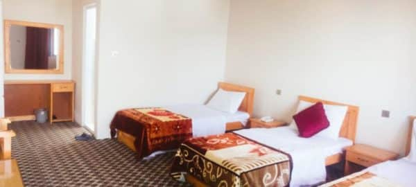 Mountain Lodge Skardu Triple Bed