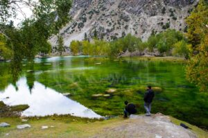 Satrangi Lake Nalter valley