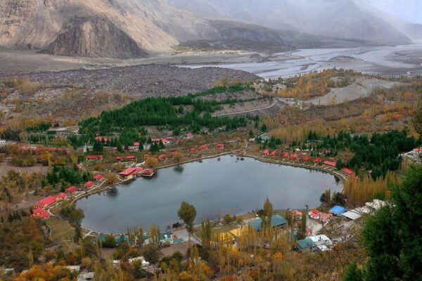 Shangrila resort Skardu view