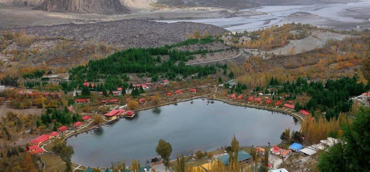 Shangrila resort Skardu view