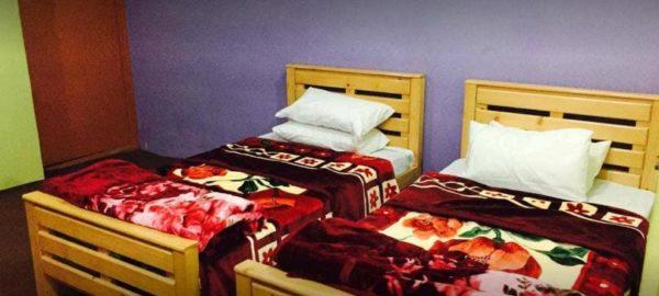 Twin Bed Room Marcopolo Hotel Gilgit
